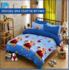 Sprei Star Karakter dengan Bed Cover | 0812 8951 4505