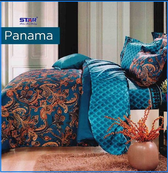 Sprei Star Panama Berikut Bed Cover Set