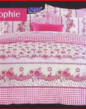 Jual Sprei Star Sophie Berikut Bed Cover Murah