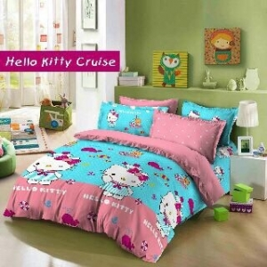 Sprei Star - Jual Pernak Pernik Hello Kitty Cruise