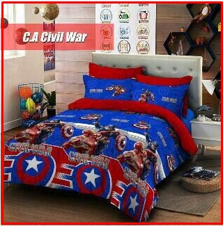 Distributor Sprei Star Murah CA Civil War