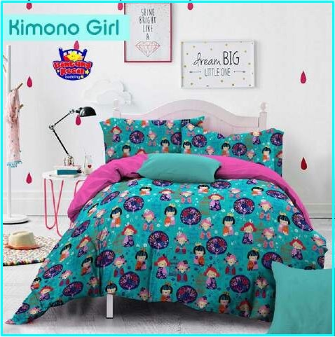 Distributor Sprei dan Bed Cover Star Kimono Girl Tosca Murah