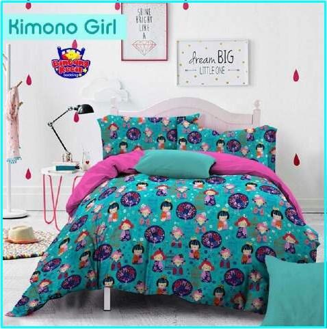 Distributor Sprei dan Bed Cover Star Kimono Girl Tosca Murah