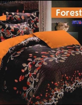 Grosir Sprei Star Foresta Cantik dan Elegan Murah