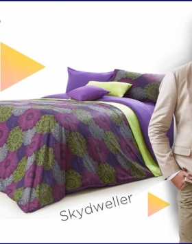 Grosir Sprei Star Skydweller Berikut Bed Cover murah