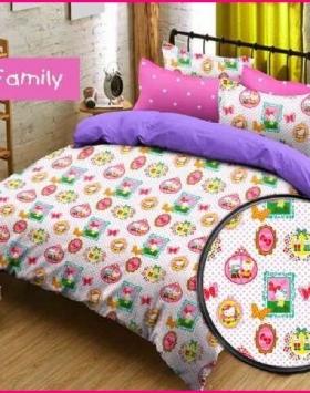 Jual Sprei Anak Harga Murah Hello Kitty Family