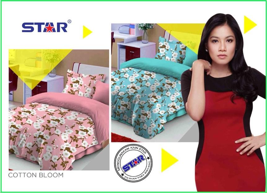Jual Sprei Star Cotton Bloom Terbaru 2016 harga Murah