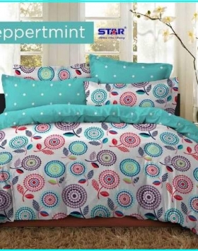 Jual Sprei Star Dan Bed Cover Peppermint Murah