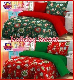 Sprei Star Collection Holiday Tweet Motif Anak Online