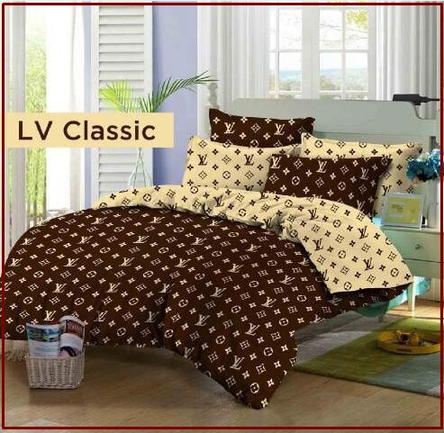Sprei Star Collection LV Classic motif Dewasa Murah