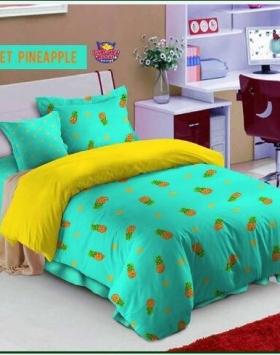 Sprei Star Collection Remaja Sweet Pineapple