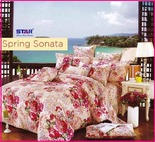Sprei Star Collection Spring Sonata Dewasa Elegan