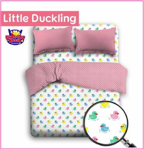 Bed Cover Motif Anak Murah Little Duckling