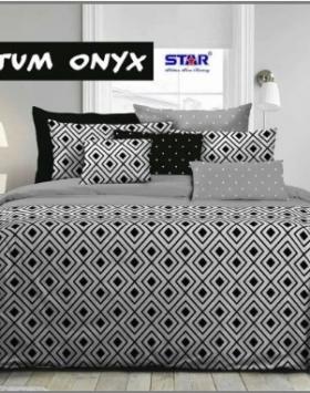 Bed Cover Star Murah Quantum Onyx