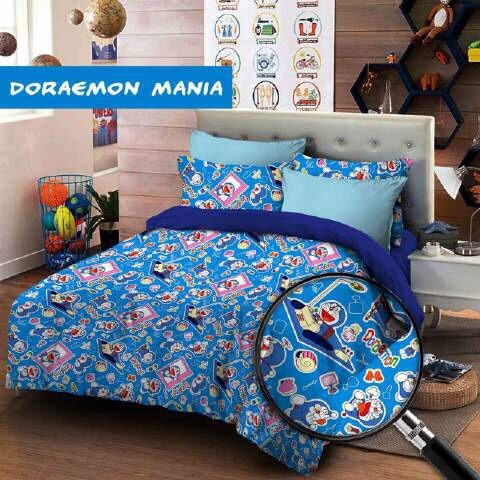 Sprei Star Collection Anak Lucu Motif Doraemon Mania