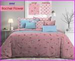 Bed Cover Motif Bunga Terbaru Murah