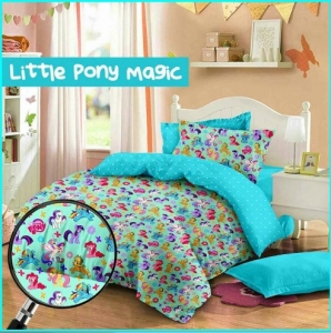 Sprei Cipadu Murah Moti fLittle Pony Magic Online