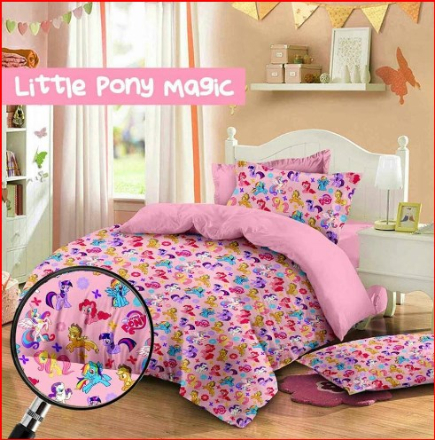 Sprei Cipadu Murah Motif Little Pony Magic-1 Jual Online