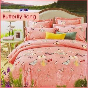 Sprei Star Butterfly Song-1 Motif Kupu Terbaru