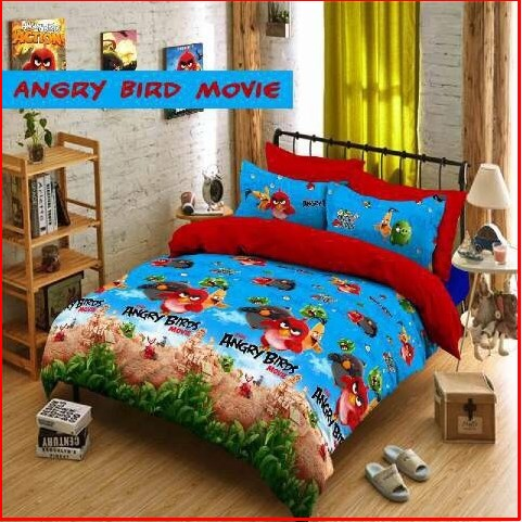 Sprei Star Collection Angry Bird Movie Untuk Anak Online