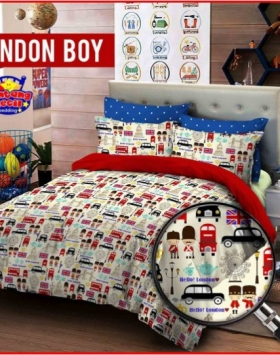 Sprei Star Collection London Boy dijual Online