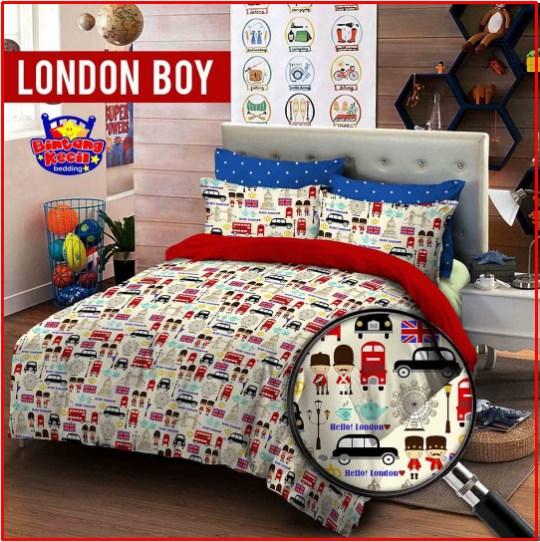 Sprei Star Collection London Boy dijual Online