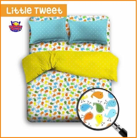Sprei Star Kartun Anak Terbaru Little Tweet-1