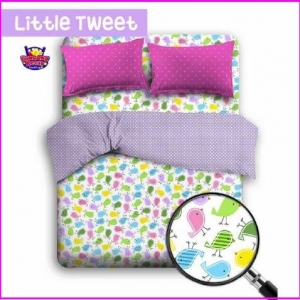Sprei Star Kartun Anak Terbaru Little Tweet