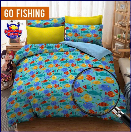 Sprei Star Cipadu Go Fishing
