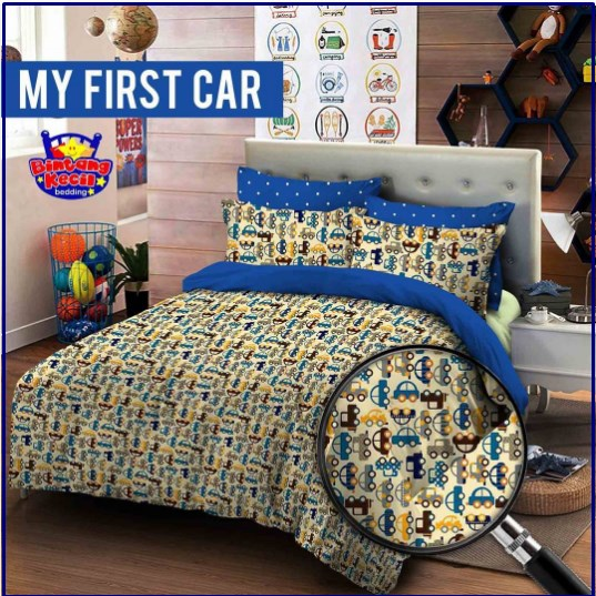 Sprei Star Collection MyFirst Car Desain Terbaru