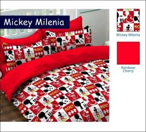 Jual Sprei Anak Kartun Murah Motif Mickey Millenea