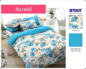 Sprei Star Collection Online Astrid Motif Bunga