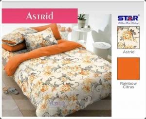 Sprei Star Collection Online Astrid Motif Bunga