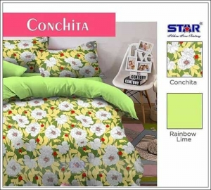 Jual Sprei Star ConChita berikut bedcover murah dan cantik