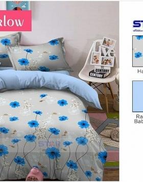 Sprei Bedcover Star Harlow Motif Bunga nan cantik