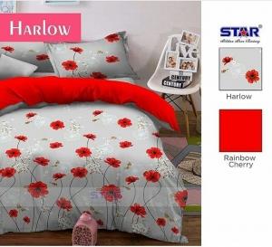 Sprei Bedcover Star Harlow Motif Bunga
