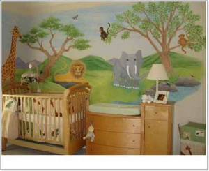 Design Ruang Tidur Anak Dengan Konsep Alam