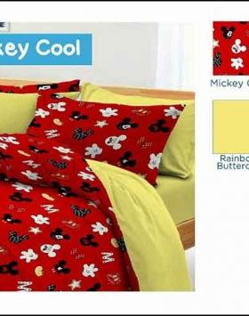 Grosir Bed Cover Motif Anak Terbaru Mickey Cool Murah