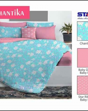Jual Bed Cover Motif Dewasa Chantika murah