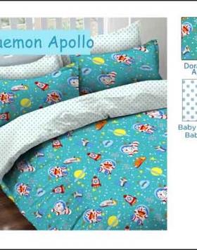 Sprei Bedcover Star doraemon apollo motif anak lucu