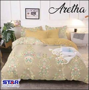 Bedcover Murah motif Batik Untuk dewasa Star Aretha