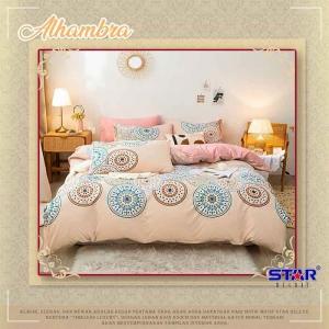 Sprei Star Deluxe Murah dan Elegan Online Alhambra Tema Timeless